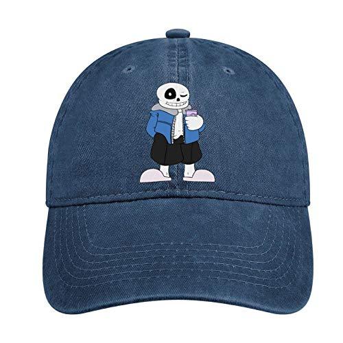 Faithe Keppel Un-dert-ale Sombrero de vaquero de moda para adultos, gorra de béisbol ajustable unisex