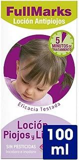 FullMarks Loción Antipiojos para Niños con Lendrera, Sin