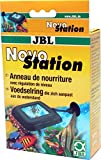 JBL NovoStation 61369 Schwimmender Futterring für Aquarien mit Wasserstands-Ausgleich