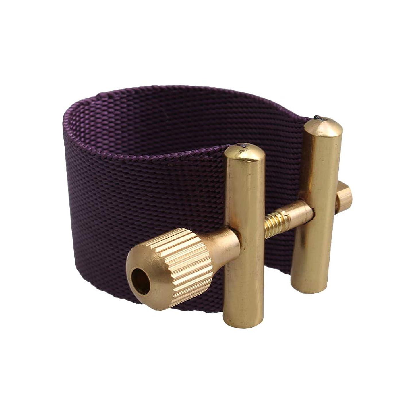 Mxfans Tenor Sax Rubber Mouthpiece Ligature Saxophone Clips Clamp Sax Parts