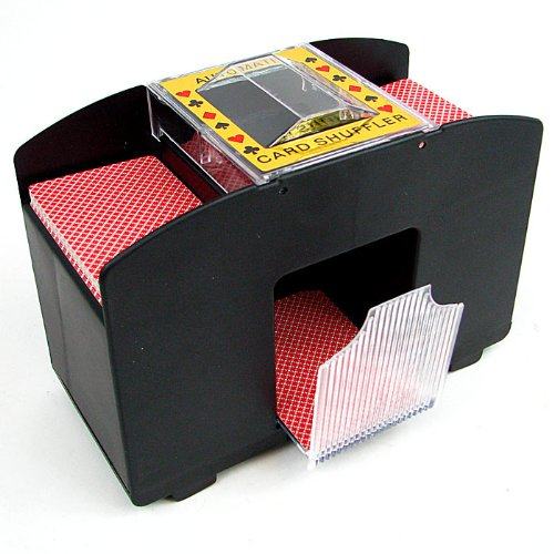 Trademark Poker Card Shuffler, 4-Deck Automatic