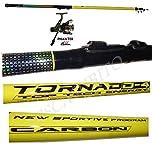 Pescasubito.com Kit Canna Bolognese Tornado + Mulinello phanter 1000