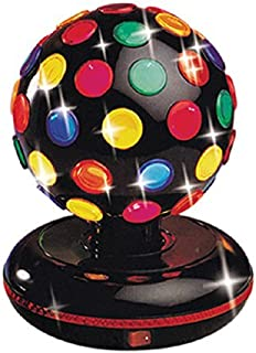 Trisonic Party Time Multi Color 360 Degree Rotating Mirror Disco Light 12