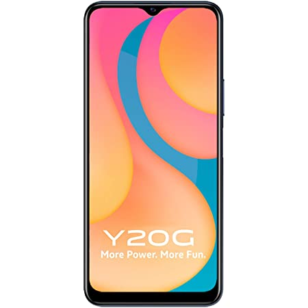 Vivo Y20G (Obsidiant Black, 6GB RAM, 128GB) with No Cost EMI/Additional Exchange Offers