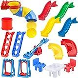 24 PCS Big Building Blocks Park Playground Toy Accessories | Educational DIY Large Construction Bricks Set, Compatible with Major Brands