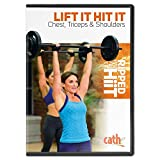 Cathe Friedrich Ripped with HiiT - Lift It Hit It Chest, Triceps & Shoulders Upper Body Workout DVD