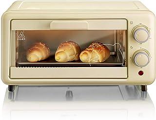 Mini Horno Eléctrico De 11L,100-230℃ Control De Temperatura Ajustable & Temporizador De 30 Min,Con Parrilla Para Hornear Asar Cocina De Mesa Asada Encantadora Decoración De Cocina,800W,Amarillo