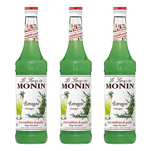 Monin Sirup Estragon, 0,7L, 3er Pack