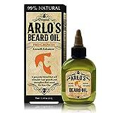 Arlo's 99% Natural Original Beard Oil, Pro-growth Growth Enhancer, 2.5 Fluid Ounce