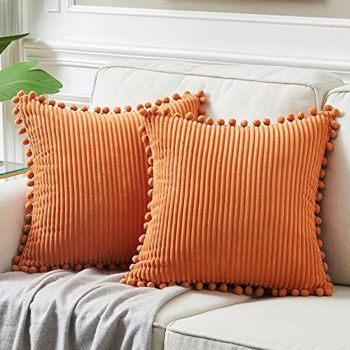 Cojín Naranja Sofa marca Fancy Homi