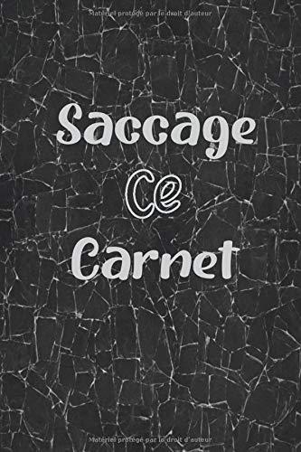 Saccage Ce Carnet: Livre pour adolescents libérant de l'énergie négative