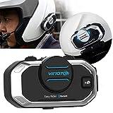 Versión en inglés Easy Rider Vimoto V8 Headset Casco Motocicleta Auriculares estéreo para teléfono m...