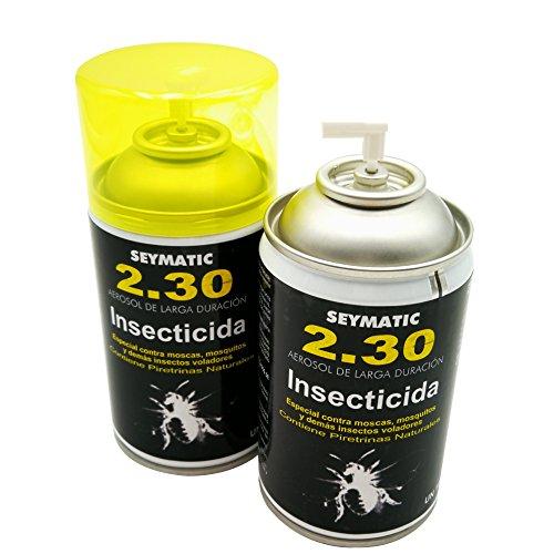 Insecticida Profesional Seymatic 2.30, con Piretrinas sintéticas y naturales. Mata fulminantemente Moscas,...