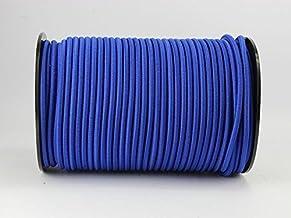 8 mm expandertouw blauw 20 m rubberen touw dekzeil spantouw elast. touw dekzeil