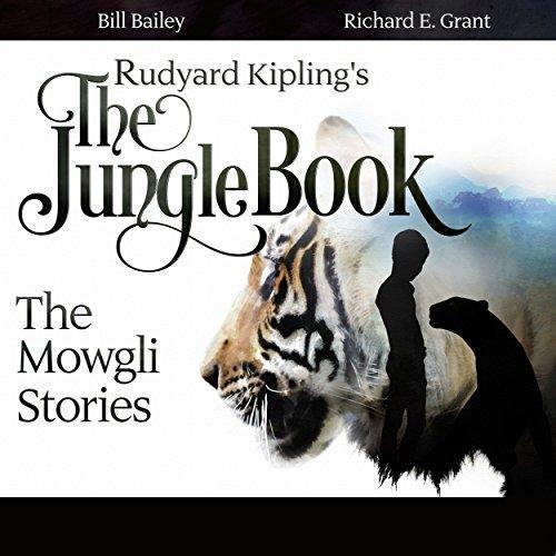 Rudyard Kipling's The Jungle Book audiobook cover art
