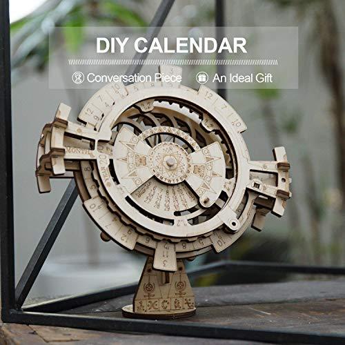 ROKR Perpetual Calendar Model Kits for Adults Mechanical Model Building Kits 3D Puzzles