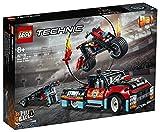 LEGO 42106 Technic LeSpectacledeCascadesduCamionetdelaMoto - modèle de Moto avec Camion et remorque pour Les Amateurs de Vitesse