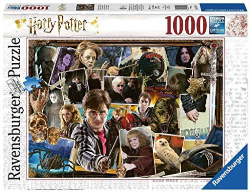 Ravensburger Puzzle Harry Potter, Harry Potter vs Voldemort, Puzzle 1000 piezas, Colección Fantasy, Rompecabezas Ravensburger de Alta Calidad, Jigsaw Puzzle