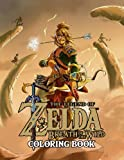 the legend of zelda coloring book: color all your favorite characters, great gift for zelda lovers
