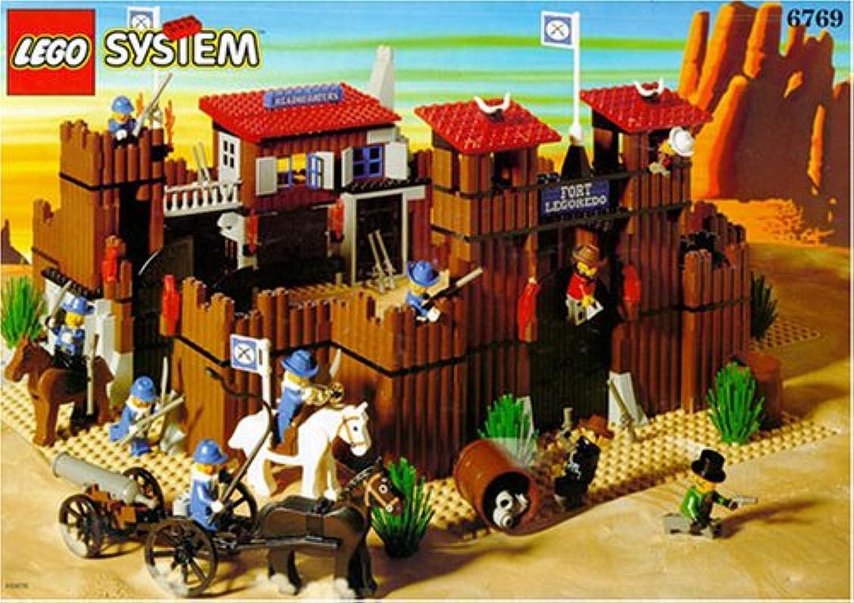 LEGO System Western 6769 Fort LEGGoldtO B00112DRLU  Tadellos       Kaufen Sie beruhigt und glücklich spielen