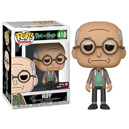 Funko ROY #418 POP! Rick and Morty: Figura de vinilo Blip y Chitz