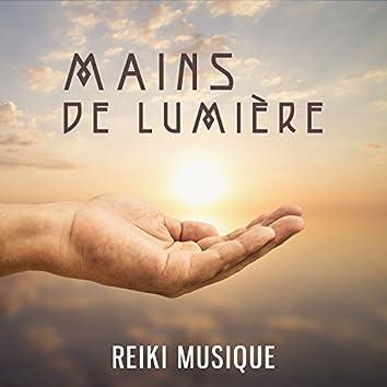 Mains de lumière - Reiki musique, L'énergie universelle pour la guérison, Musique relaxante la plus efficace, D'ouverture à la guérison Reiki, État de zénitude, Bruit de fond naturel