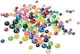 Folia 1249 - Medias canicas (125 piezas de nácar de diferentes tamaños y colores) [Importado de Alemania] , color/modelo surtido