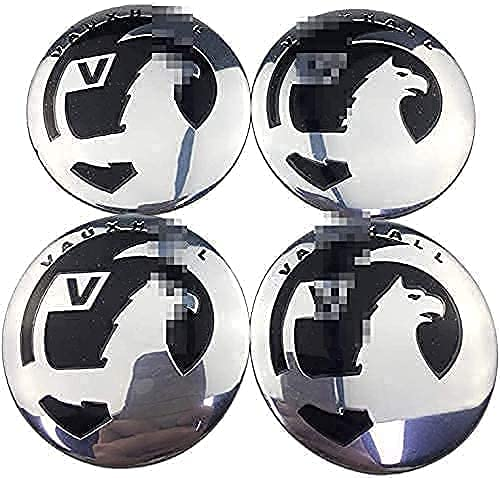 YYHDD 4 Piezas Tapas centrales para Llantas para Opel Astra Mokka Corsa,Aleación de Aluminio Cubierta Centro Rueda Coche,Tapacubos Logo Insignia Tapa a Prueba de Polvo Accesorios,60mm