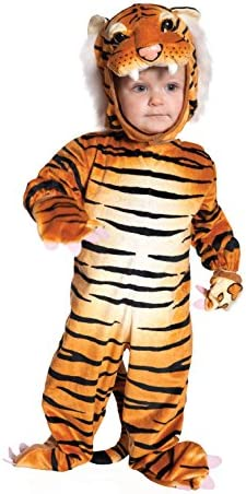 UNDERWRAPS Baby s Tiger Costume Jumpsuit Brown Large 2T 4T product image