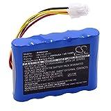 vhbw Batería Compatible con Gardena R100Li, R130Li, R160Li 2016, R160Li 2017, R160Li 2018, Sileno, Sileno+ Robot cortacésped (Li-Ion, 2600mAh, 18.5V)