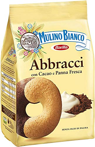 12x Mulino Bianco Kekse Abbracci 350g Italien biscuits cookies kuchen brioche