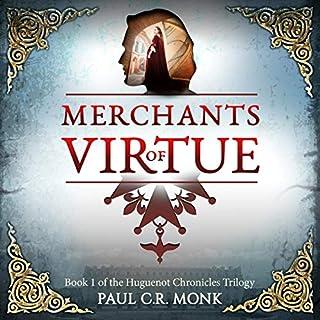 Merchants of Virtue: A Historical Fiction Novel audiobook cover art