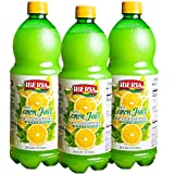 100% LEMON JUICE: Iberia 100% lemon juice makes it easy to add delicious lemon flavor to dipping sauces, marinades, or even sodas or juice without slicing and squeezing fresh lemons. NO SLICING AND SQUEEZING: No need to slice or squeeze whole lemons ...