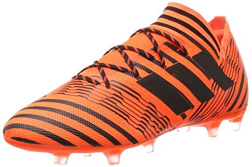 adidas adidas Herren Nemeziz 17.2 Fg Fußballschuhe,Mehrfarbig (Solar Orange/core Black/solar Red),42 2/3 EU