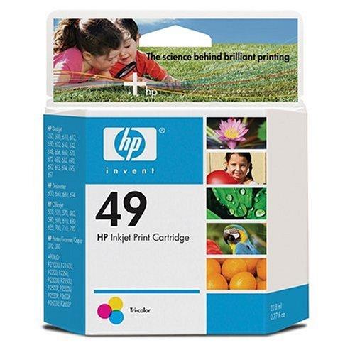 HP Tintenpatrone Nr. 49 mehrfarbig (11ml)
