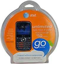 Pantech Link P7040 AT&T Unlocked GSM QWERTY Cell Phone - Black
