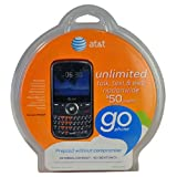 Pantech Link P7040 AT&T Unlocked GSM QWERTY Cell Phone - Black (Red Keys)