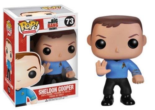 Funko - Pdf00003791 - Figurine Cinéma - The Big Bang Theory - Pop - Sheldon Star Trek