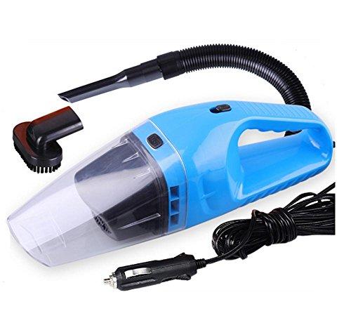 Akkusauger,Auto Staubsauger Nass / Trocken 12V 120W Tragbare Hand Vakuum Auto Vakuum , blue