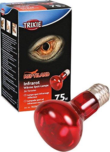 Trixie 76096 Infrarot Wärme-Spotlampe, ø 63 × 100 mm, 75 W