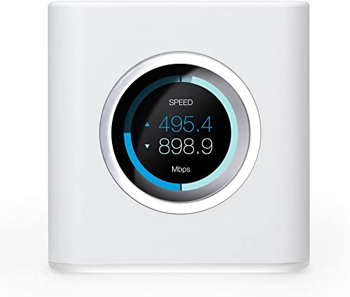 AmpliFi HD WiFi Router by Ubiquiti Labs, Seamless Whole Home Wireless Internet Coverage, HD WiFi Router with Touchscr...