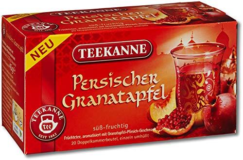 TEEKANNE vruchtenthee Perzische granaatappel, zakje gebuffeld, 20 x 2,25 g (20 stuks), je ontvangt 1 verpakking à 20 stuks