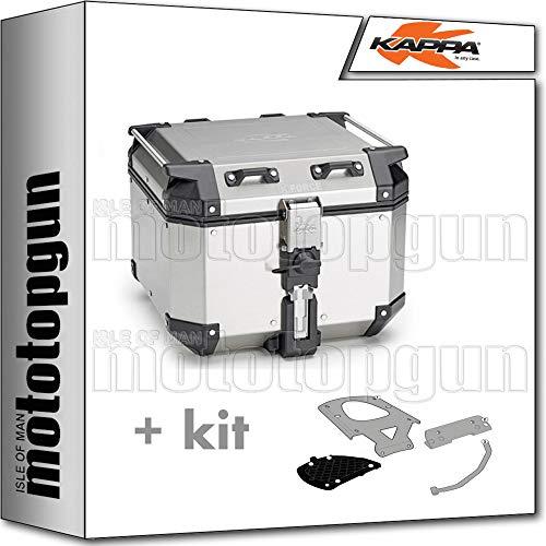 kappa maleta kfr420a k'force 42 lt + portaequipaje monokey compatible con benelli trk 502 x 2020 20