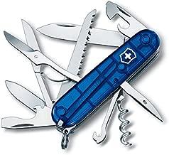 Victorinox Swiss Army Multi-Tool, Fieldmaster Pocket Knife, Blue
