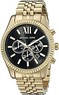 Michael Kors Lexington MK8286 - Reloj de pulsera para hombre, color dorado