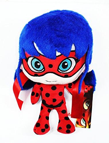 Ladybug, La Muñeca de Peluche Original de la Serie de Dibujos Animados. Edición especial para Regalos Latorre. Medidas: 28x17x18 cms..