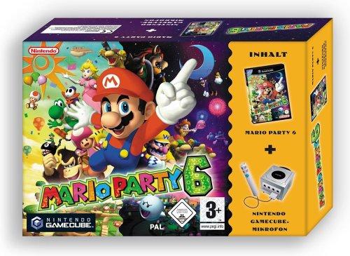 Mario Party 6 (inkl. Mikrofon)
