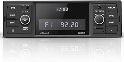 ieGeek Autoradio Bluetooth, Estéreo RDS, Soporta 60W X 4