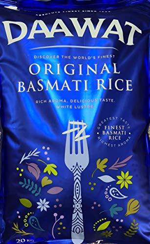 Daawat - 20kg Original Basmati Reis / Original Basmati Rice