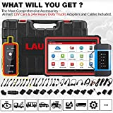 [2021 New] LAUNCH X431 PRO3S+HDIII,Diesel&Gasoline Bidirectional Diagnostic Scan Tool,Cars&Heavy Duty Trucks All Systems Scanner,Key Program,ECU Coding,31+Service,Cars&Trucks Connector Kits